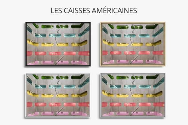 cadre photo pauline chovet coursives polychromes caisse americaine