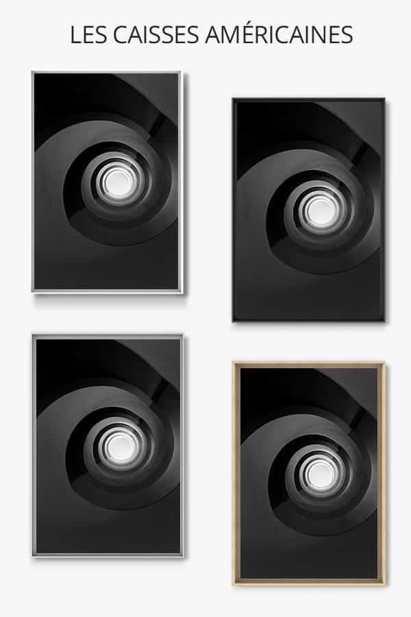 cadre-photo-escalier-noir-infini-caisse-americaine-1