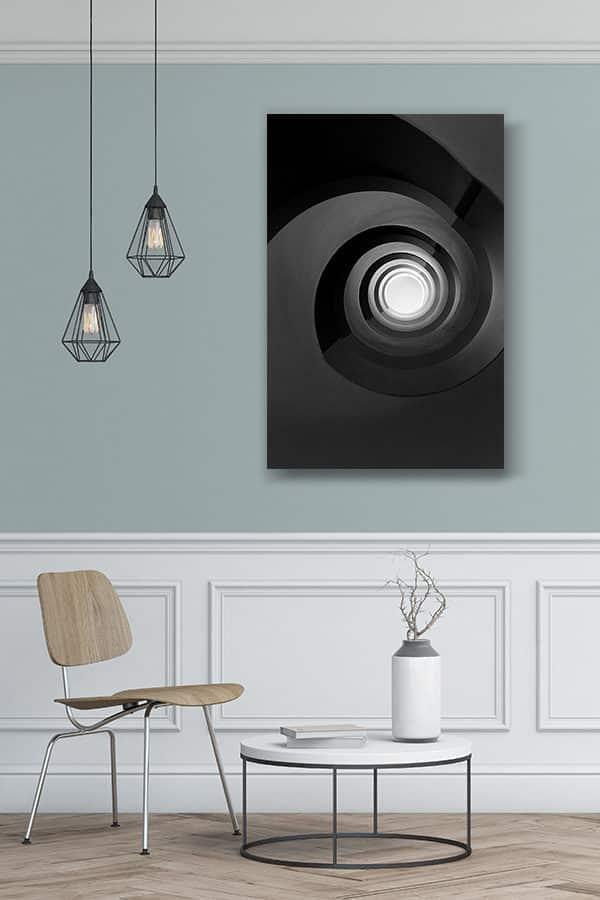 cadre-photo-escalier-noir-infini-deco-2-1