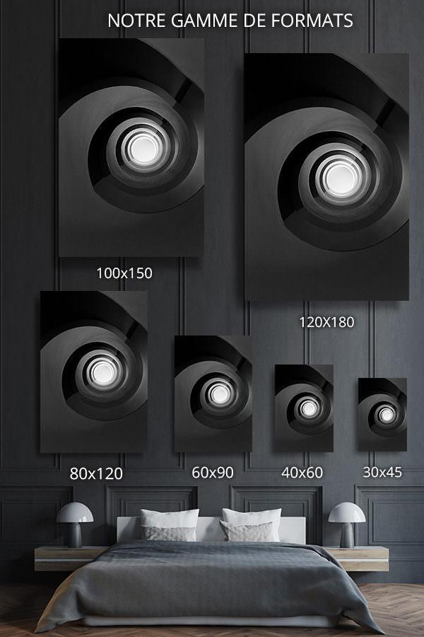 cadre-photo-escalier-noir-infini-deco-formats-1