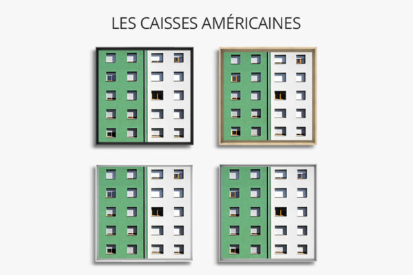 cadre photo chovet fenetres colorees vert dur caisse americaine
