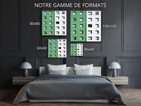 cadre photo chovet fenetres colorees vert dur deco formats