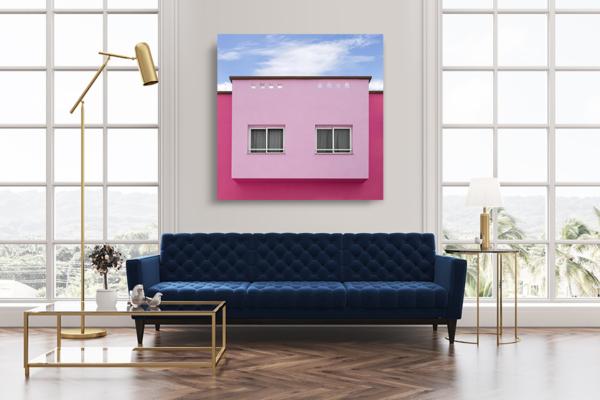 cadre photo chovet rose bonbon deco