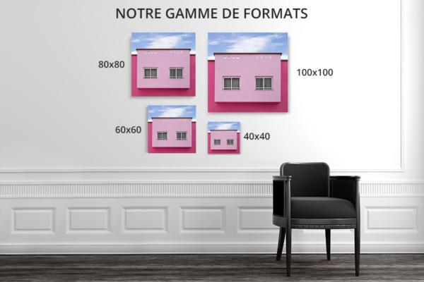 cadre photo chovet rose bonbon deco formats