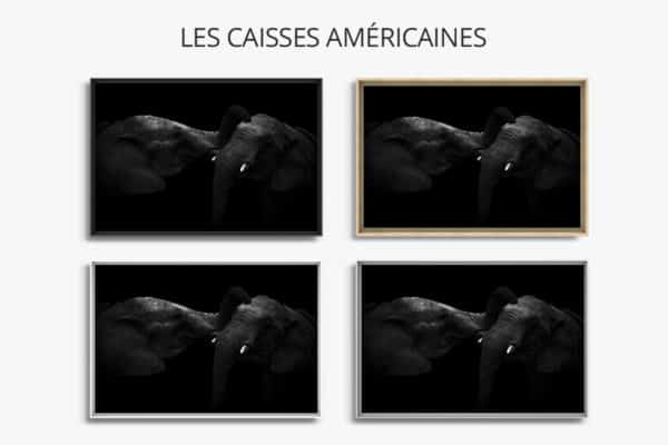 cadre photo tendresse caisse americaine