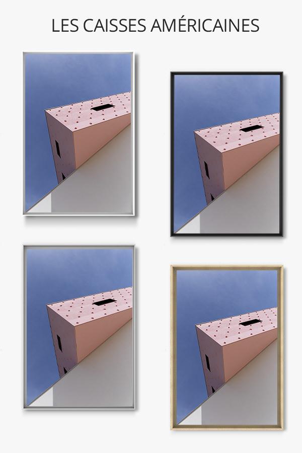 cadre photo bout de gomme caisse americaine