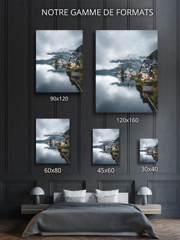 cadre photo carte postale deco formats