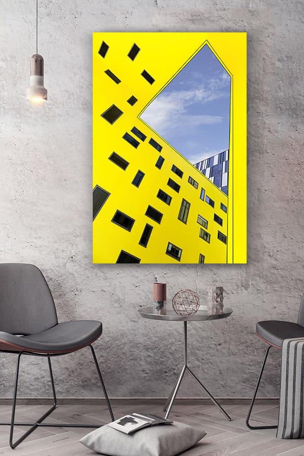 cadre photo cour exterieure deco