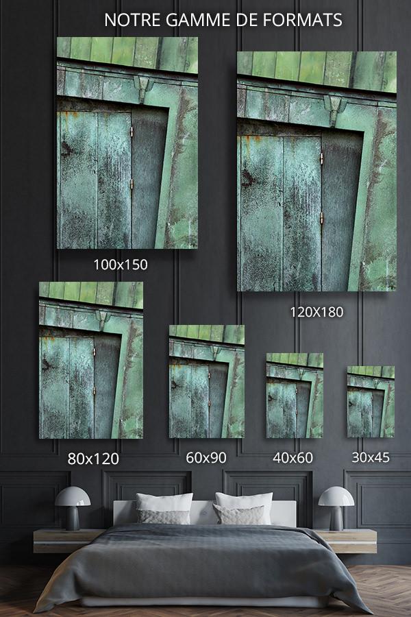 cadre photo cuivre prepatine deco formats