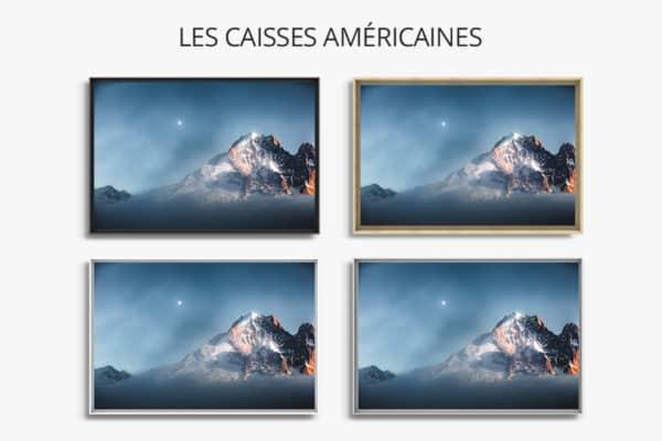 cadre photo derniere lueur caisse americaine