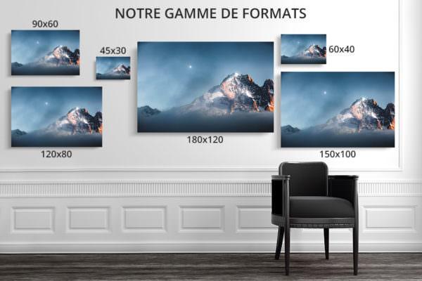 cadre photo derniere lueur deco formats