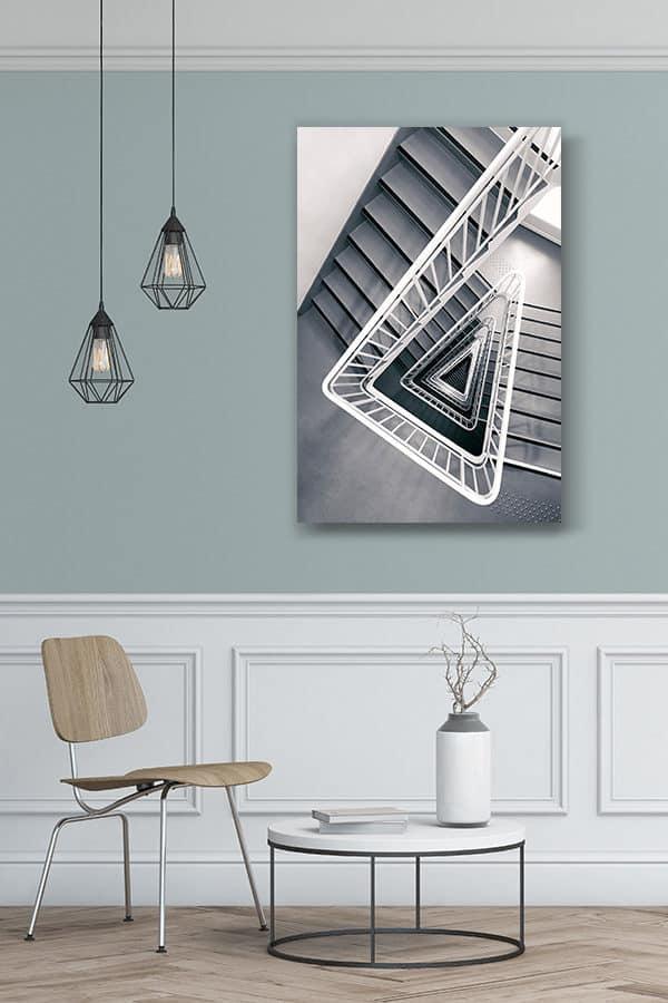 cadre photo escalier delta deco