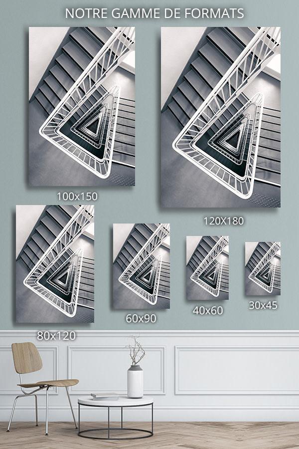 cadre photo escalier delta deco formats