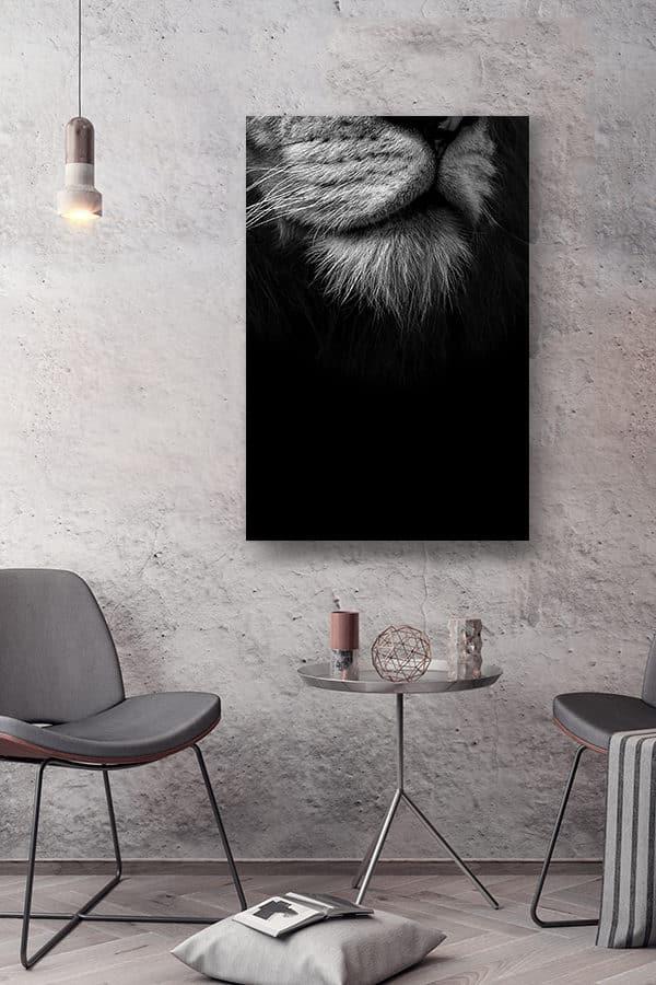 cadre photo bouc du roi deco