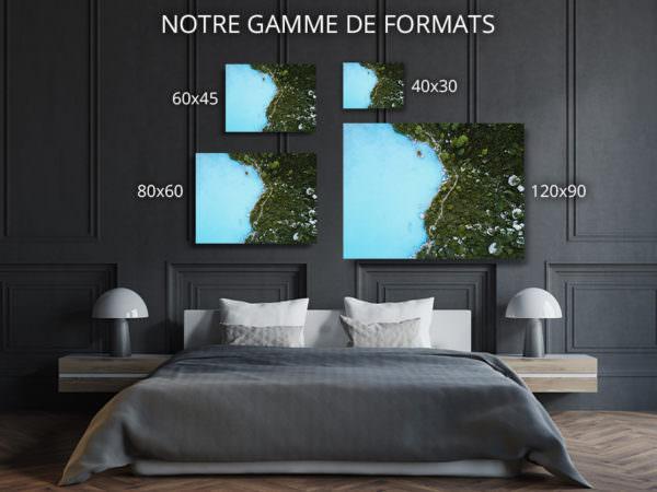 cadre photo reve bleu deco formats