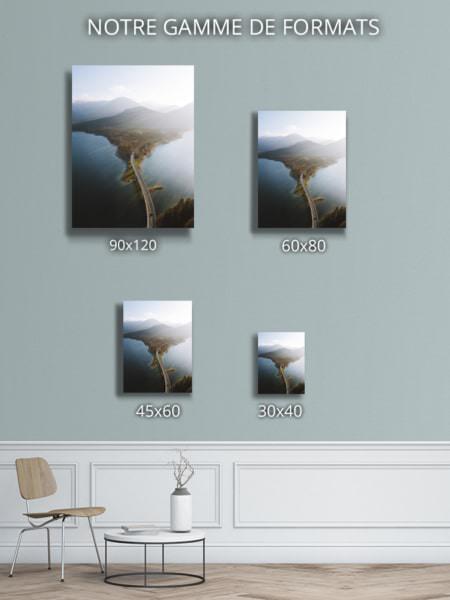 cadre photo route vers le paradis deco formats