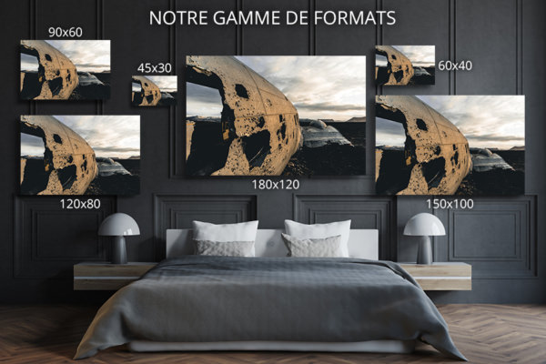 cadre photo au travers du DC  deco formats