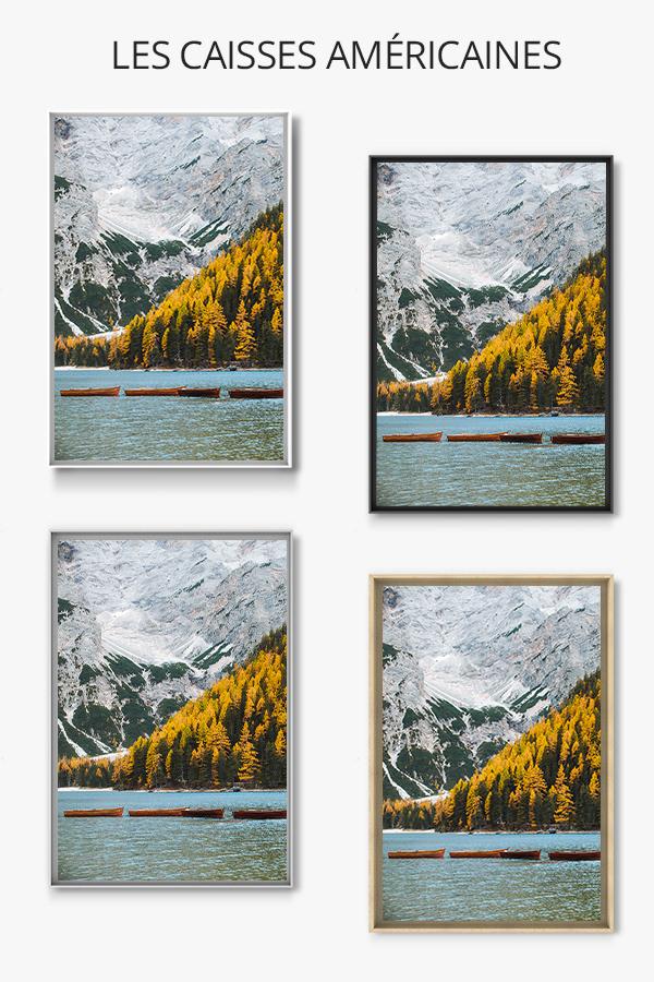 photo automne au lac de braies caisse americaine