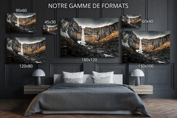 cadre photo cascade deco formats