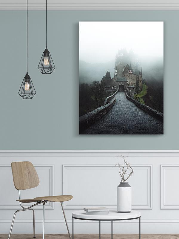 cadre photo chateau deltz deco