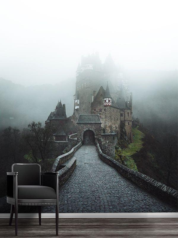 photo chateau deltz papierpeint