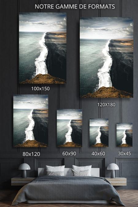 cadre photo contraste deco formats
