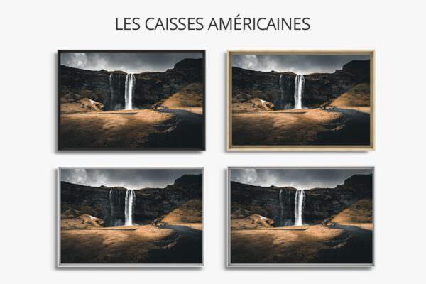 cadre photo immensite caisse americaine