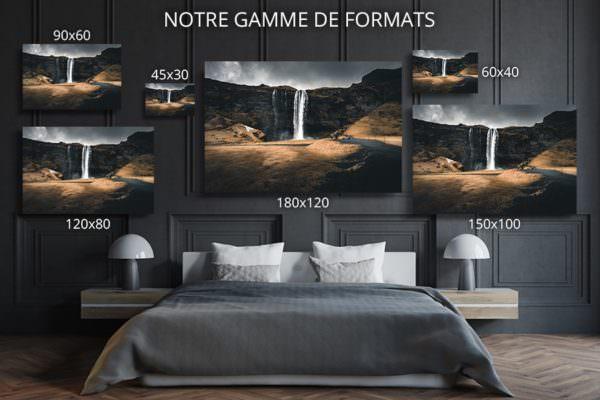 cadre photo immensite deco formats