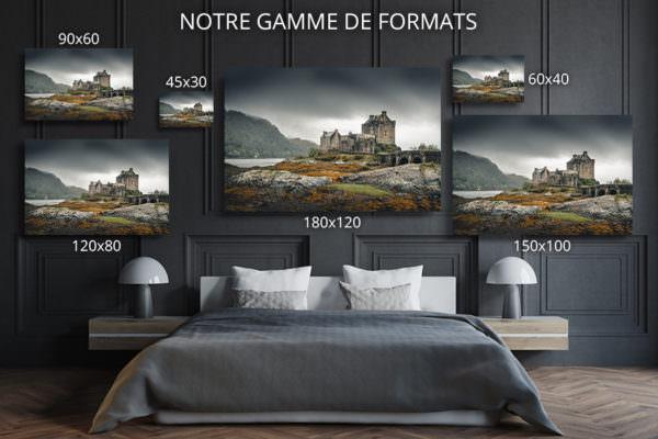 cadre photo la vie de chateau deco formats