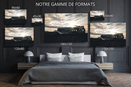 cadre photo lever du soleil DC  deco formats