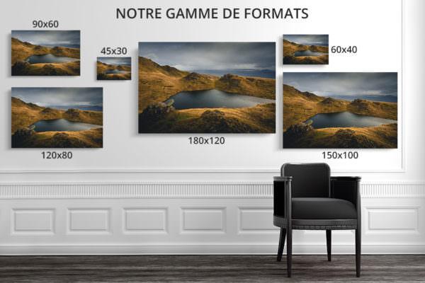 cadre photo lumiere deco formats