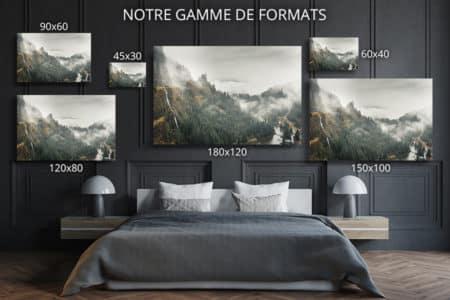 cadre photo nature deco formats