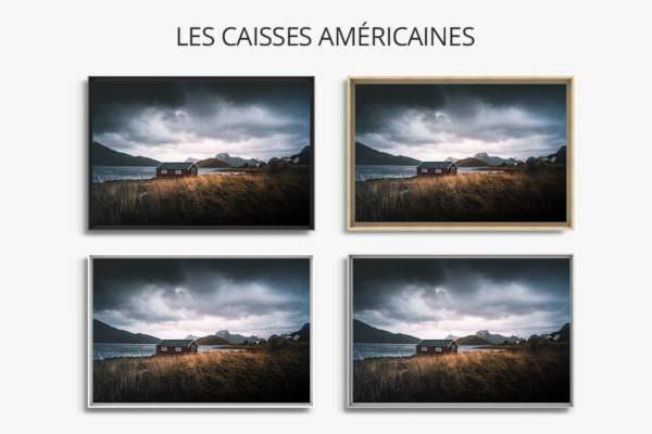 cadre photo vue ideale caisse americaine