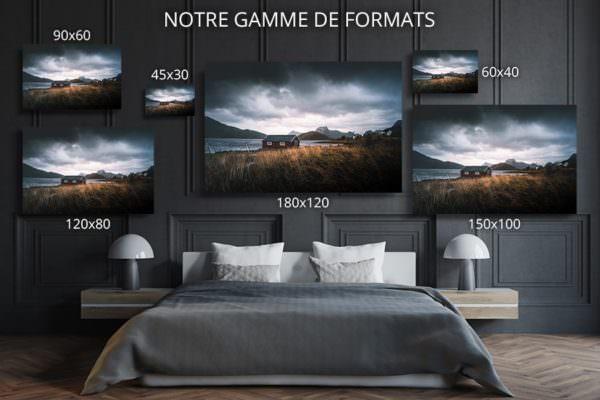 cadre photo vue ideale deco formats