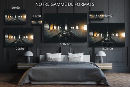 cadre photo vue interieure du DC  deco formats