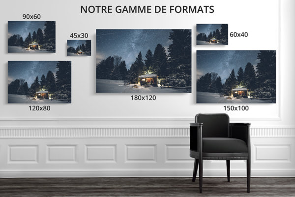 PHOTO NUITPOLAIRE FORMATS DECO