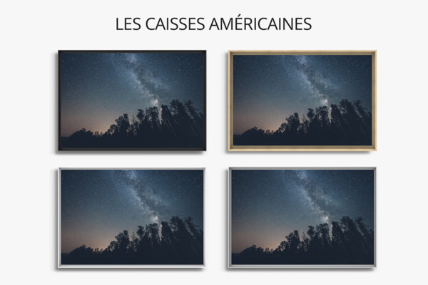 PHOTO Nuit etoilee CAISSES AMERICAINES