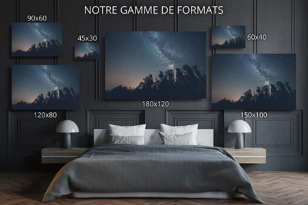 PHOTO Nuit etoilee FORMATS DECO