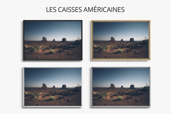 PHOTO nuitaMonumentValley CAISSES AMERICAINE