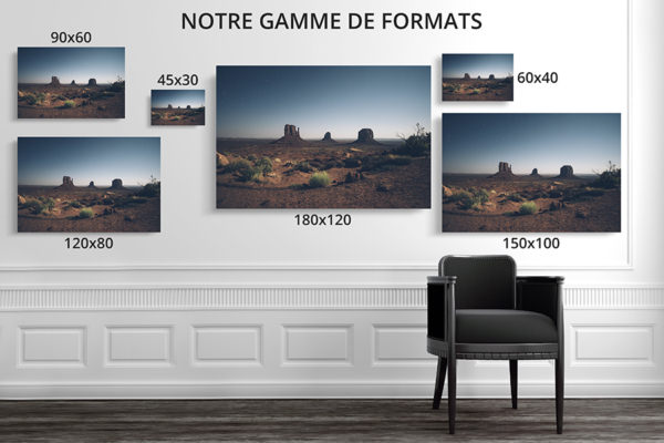 PHOTO nuitaMonumentValley FORMATS DECO