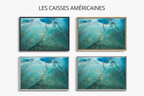 PHOTO AU COEUR BARRIERE CORAIL CAISSES AMERICAINES