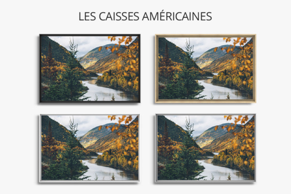 PHOTO Charlevoix CAISSES AMERICAINES