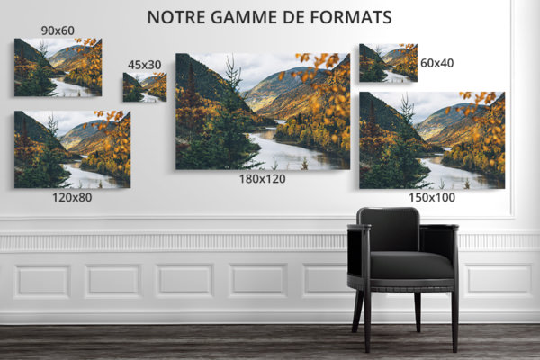 PHOTO Charlevoix FORMATS DECO