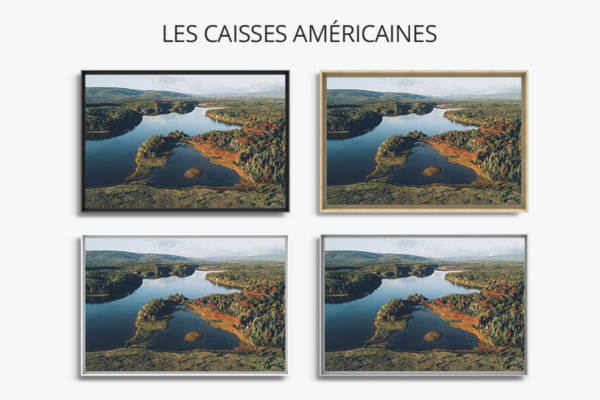 PHOTO Lac Rouge Bestjobers CAISSES AMERICAINES