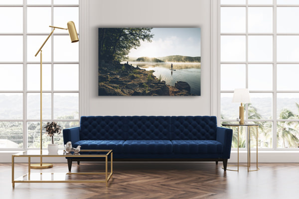 PHOTO Pause au lac DECO