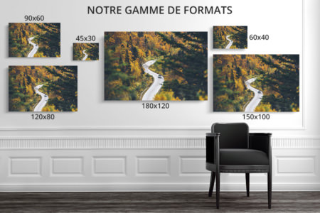 PHOTO ROUTE EN S FORMATS DECO
