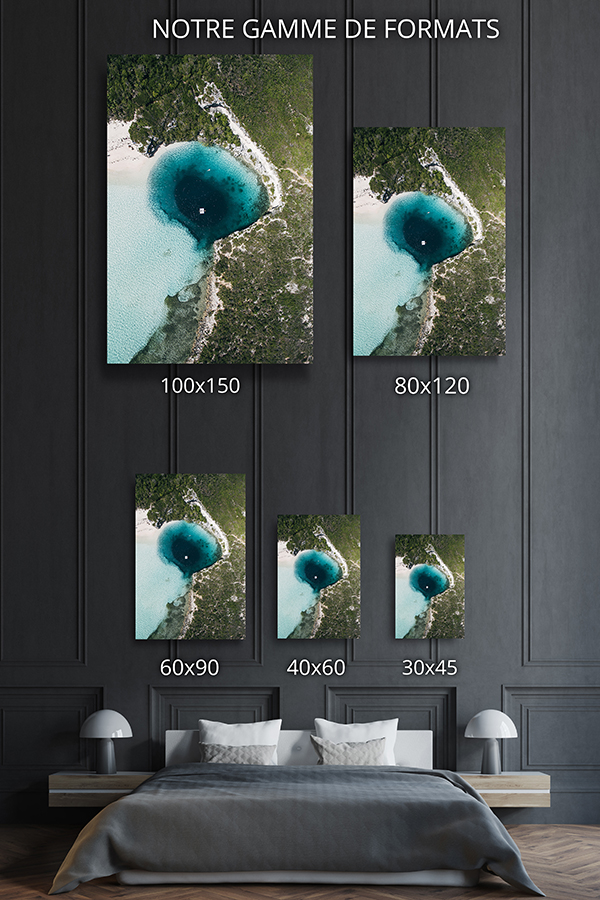 PHOTO TROU BLEU Bahamas FORMATS DECO