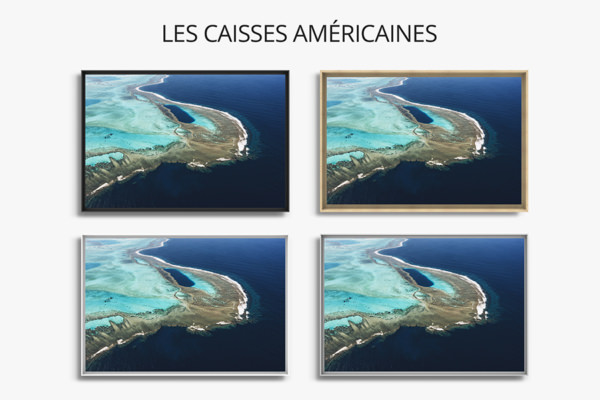 PHOTO TROU BLEU CALEDONIEN CAISSES AMERICAINES