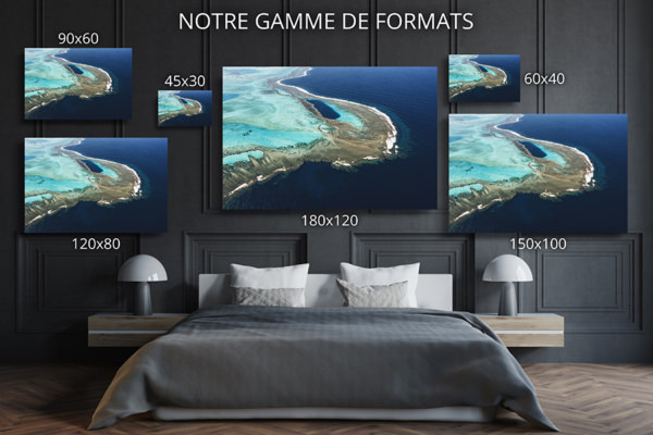 PHOTO TROU BLEU CALEDONIEN FORMATS DECO