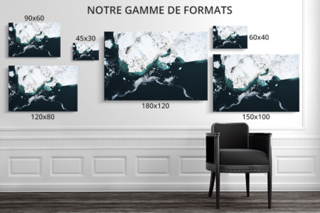 photo les icebergs de disko bay formats deco